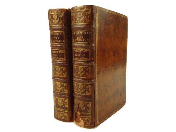 1753 Nouvel Abrege Chronologique de L'Histoire des Empereurs. Francois Mezeray.