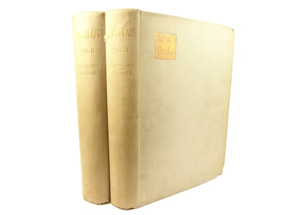 1892 Vellum copy, The Works of Master Francis Rabelais. Garagantua, Pantagruel