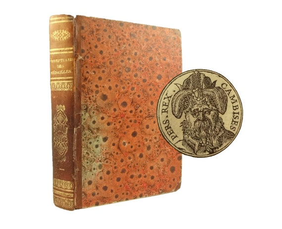 1553 Promptuaire des Medalles - 400+ portrait medallions with biographies