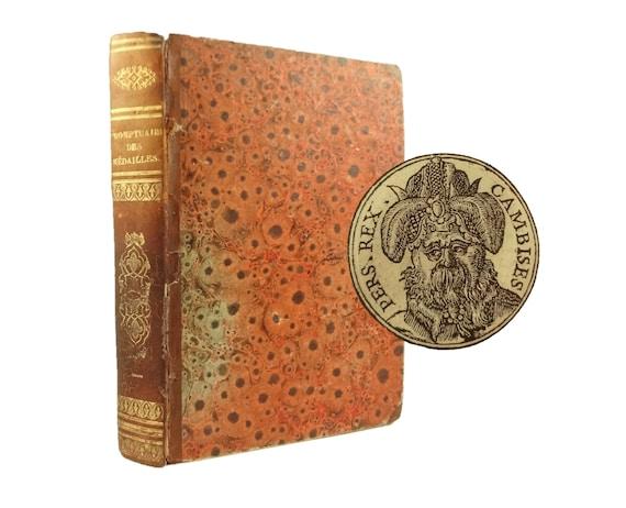 1553 Promptuaire des Medalles - 400+ portrait medallions with biographies