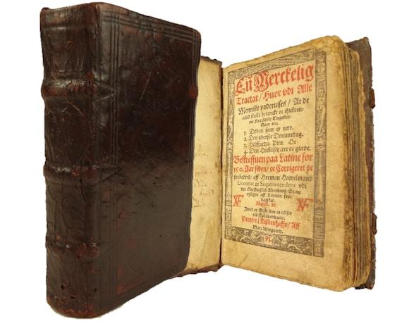 1593 En Merckelig Tractat (A Remarkable Treatise) by Hermann Hamelmann.