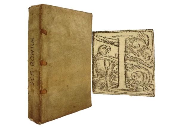 1529 (3 in 1) Scribonii (Scribonius) Largi, De Compositione Medicamentorum. Benivieni, De Abditis Morborum Causis. Polybus, Salubri Victus.