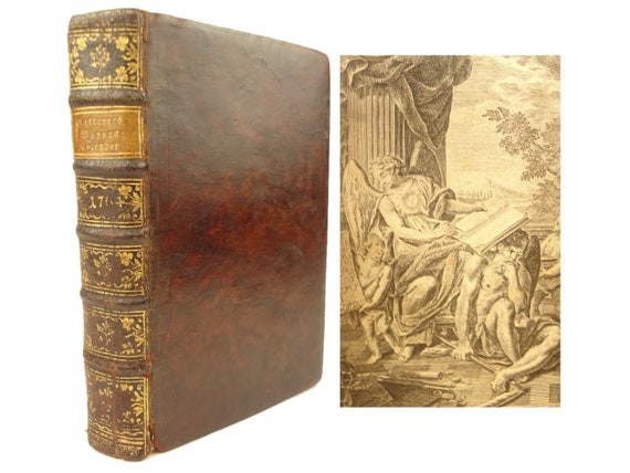Genealogy & Heraldry. 1764 Handbuch Genealogie und Heraldif. Richly illustrated.