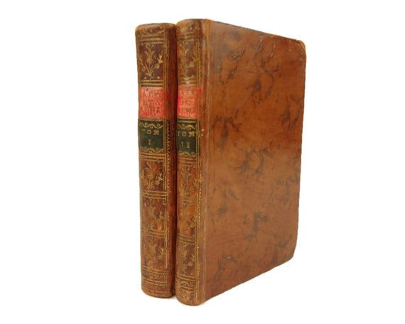 1750 Oeuvres (Works) de (Mathurin) Regnier, French satirist. Cat's-paw binding.