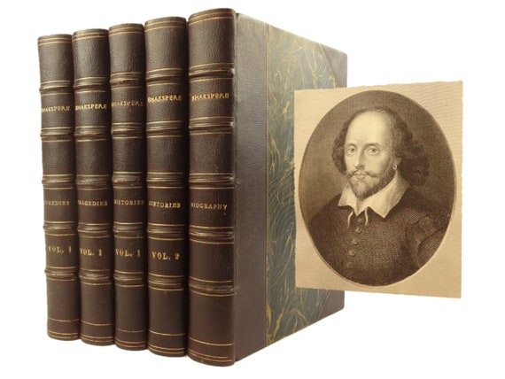 1880 Pictorial edition of William Shakespeare Works; Charles Knight notes.