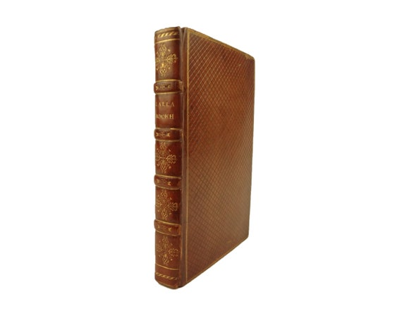 1818 Lalla Rookh, by Thomas Moore. Handsome fine binding. Classic work.