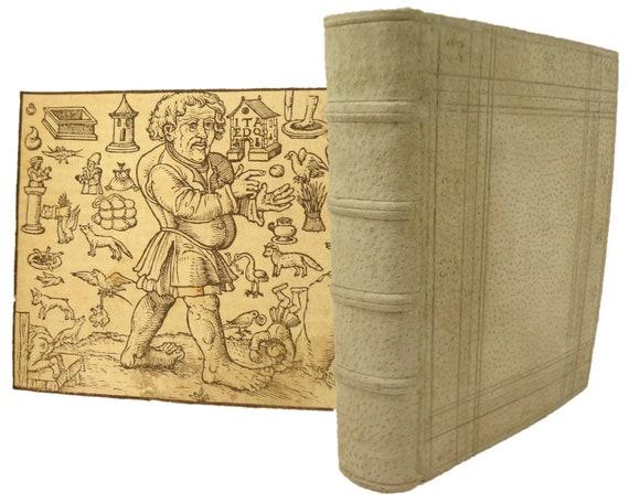 Aesop's Fables. 1569 Esopus Leben und Fabeln... und exempeln Sebastian Brant. Illustrations by Kumpt. Graff, Fryberg (Graf, Freiberg)