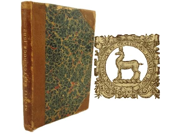 1582 Kettus, Sive de Furoribus Norfolciensium Ketto Duce by Alexander Neville.