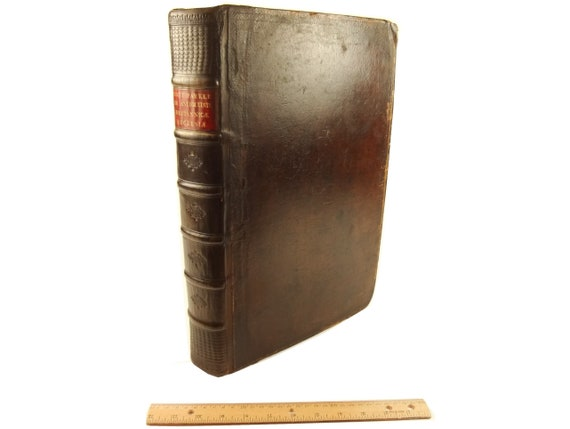 1729 Antiquitate Britannicae Ecclesiae by Matthew Parker. Folio. 29 plates. Likely royal paper ed.