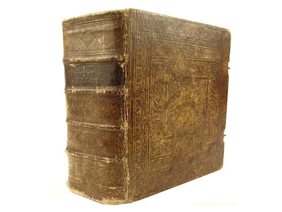 1757 Itinerarium Sacrae Scripturae,Heinrich Bunting. Maps of Israel, 24 plates - Jerusalem, etc.