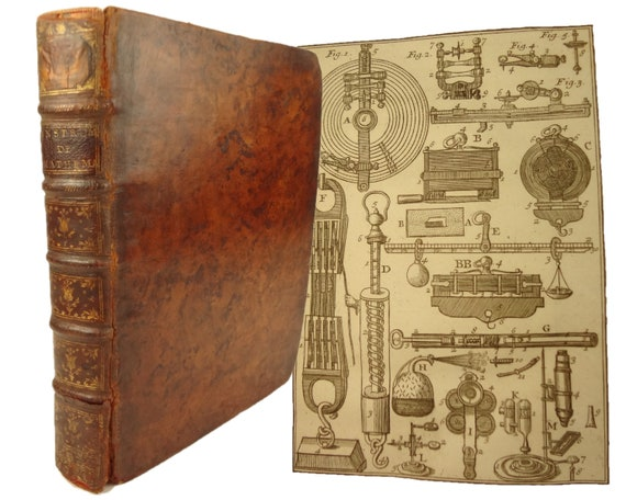 1752 Traite de la Construction et des principaux Usages des Instrumens de Mathematique by Nicholas Bion. Paris, 4th edition.