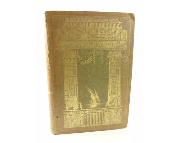 1851 The Nile Boat or Glimpses of the Land of Egypt,Bartlett. Richly illustrated