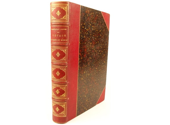 1879 Voyage Autour Du Monde (Around the World). Olivier & Champagnac. 24 steel engravings.