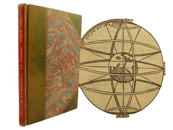 1607 La Sphere de Jean de Sacrobosco. Astronomy. Provenance. Cavellat, Paris.