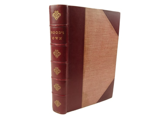 1855 Hood's Own- Laughter from Year to Year,Thomas Hood.Illustrated.Fine Binding