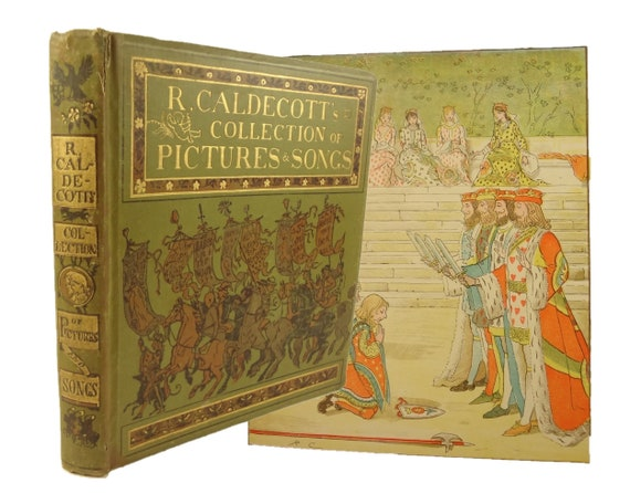 circa 1900 R. Caldecott's Collection of Pictures and Songs, Warne and Co., London