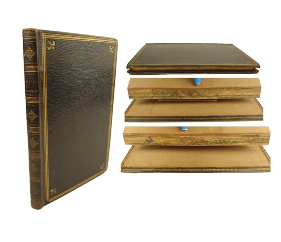 Double Fore-Edge Painting. 1802, A Small Collection of Private Devotions. Scarce.