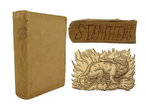 1573 Literis Gratiae ...Animarum Curam Gerunt (Letters...for the care of souls), Stafileo. Pesnot, Lyon