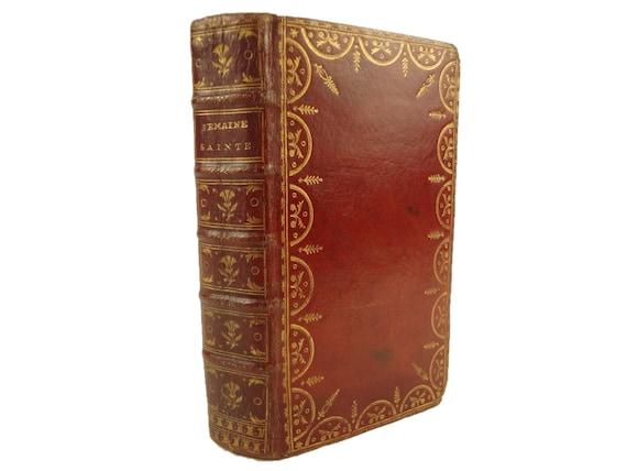 1755 L'Office de la Semaine-Sainte, a L'Usage de la Maison du Roy. Latin/French bilingual edition. Paris.