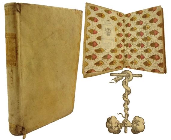 1549 1st edition, Problemi Naturali, e Morali by Girolamo Garimberto. Venice.