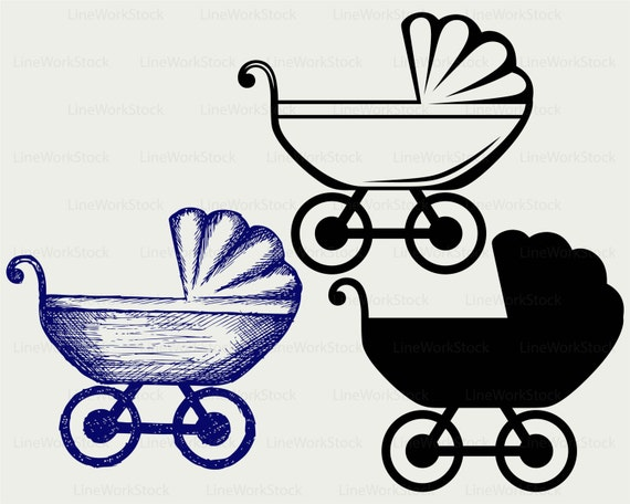 baby carriage svg baby carriage clipart baby carriage etsy rh etsy com baby carriage clipart transparent back baby carriage clipart black and white