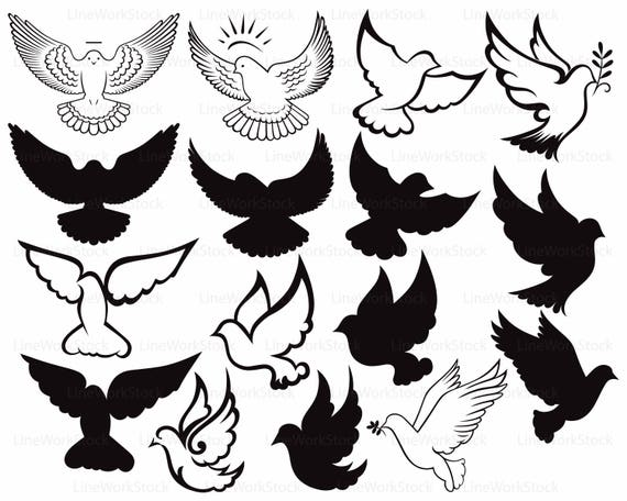 Dove Svg Dove Clipart Dove Svg Peace Dove Silhouette Pigeon Etsy Embed this art into your website: dove svg dove clipart dove svg peace dove silhouette pigeon cricut dove cut files dove clip art bird digital download svg designs