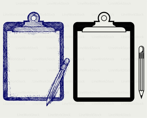 Clipboard Clipart : Transparent clipart man with clipboard.