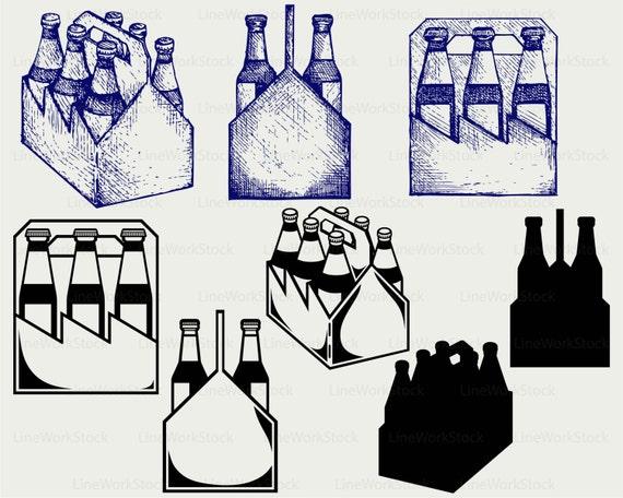 Bier Flasche Feld Svg Trinken Clipart Alkohol Svg Flasche Etsy