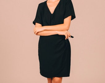 MARGUERITE DRESS BLACK