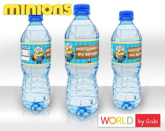 Minions Minion personnalisé enfants boissons Sports Children/'s bouteille d/'eau