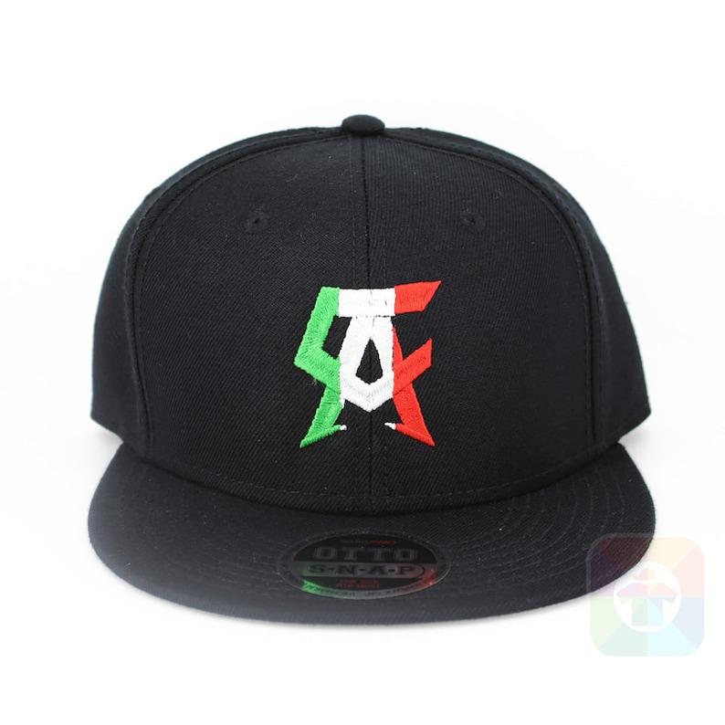 c1a7c842e7c Boxing Canelo Flat Six Panel Pro Style Snapback Hat 2251