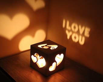 Girlfriend Birthday Gift Anniversary Gifts for Girlfriend Love Gift Candle Love Girlfriend Birthday Gift for Her Romantic