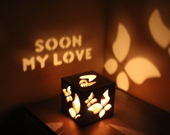 Miss You Gift Long Distance Relationship Gifts Long Distance Relationship Girlfriend LDR Long Distance Gift
