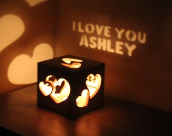 Surprise Gifts for Girlfriend Best Romantic Gift for Her Creative Gifts for Her Romantic Lighting Personalized Girlfriend Present