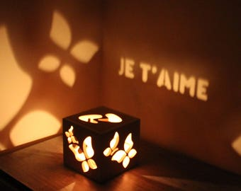 Je t'aime Romantic Gift for Her Gift for Girlfriend Christmas Gift Romantic Gift Ideas Personalized Gift
