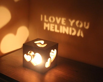 Thoughtful Gifts for Girlfriend Best Romantic Gift for Her Creative Gifts for Her Romantic Lighting Personalized Girlfriend Present
