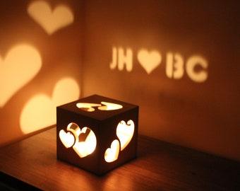 Boyfriend Gift Anniversary Boyfriend Gift Long Distance Relationship Gift for Him Personalized Magic Light Box Love Sign Romantic Gift