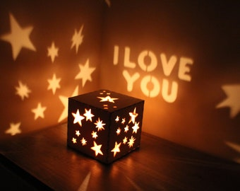 Boyfriend Gift Personalized Gift for Boyfriend First Anniversary Gifts Mens Personalized Gift for Him Custom Night Light