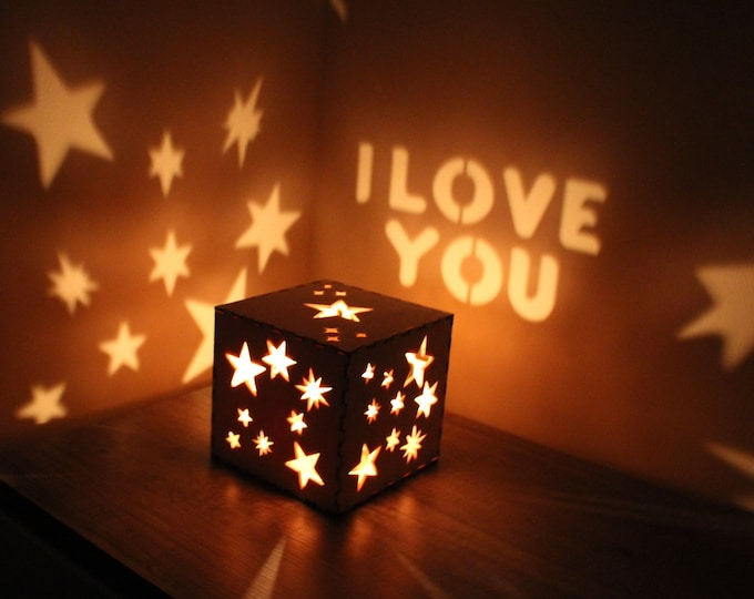 Featured listing image: Boyfriend Gift Personalized Gift for Boyfriend First Anniversary Gifts Mens Personalized Gift for Him Custom Night Light