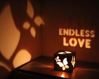 Handmade Birthday Gift for Girlfriend Girlfriend Birthday Gift Ideas Gift for Her Romantic Candle Holder