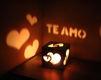 Miss You Gift Te Amo Personalized For Her Lighting Love Sign Birthday Ideas Girlfriend Romance