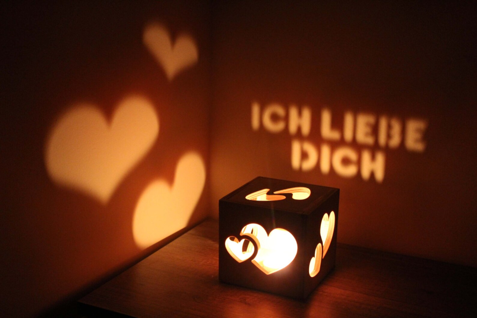 Long Distance Relationship Ich Liebe Dich Valentines Day Gift Love Sig
