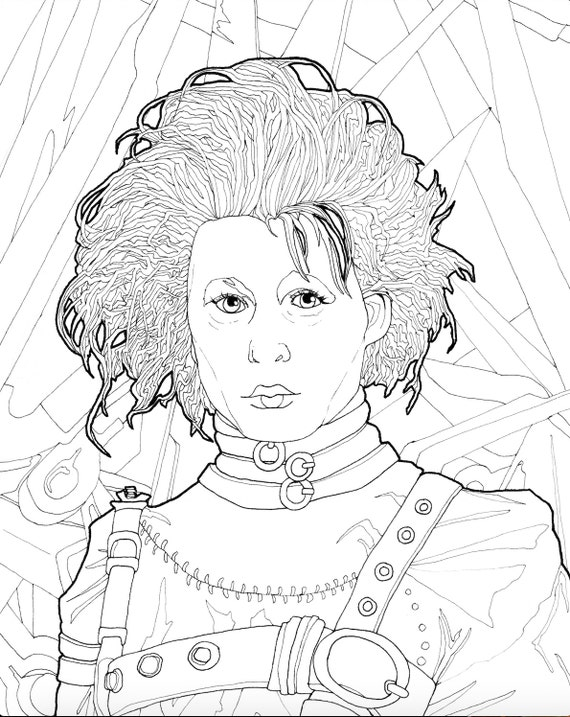 Johnny Depp #1 (Celebrities) – Printable coloring pages | 717x570