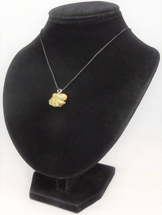 Tourmaline Cross Necklace AA20 Gold Plated Black Crystal Slice Pendant