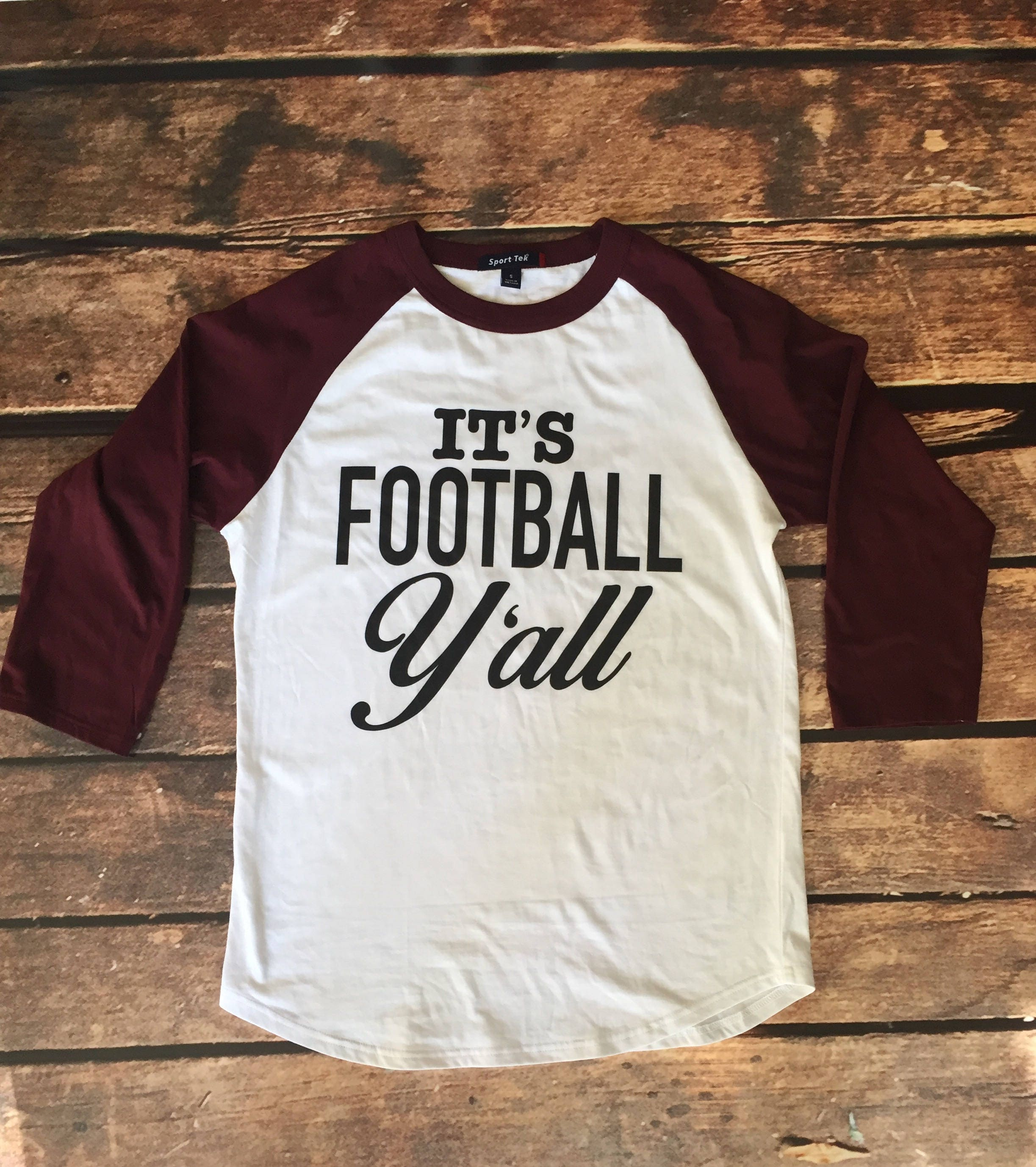 56ba0661 It's Football Y'all Football Mom Game Day Shirt | Etsy