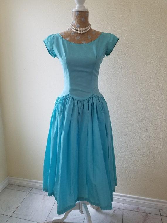 On Salentage 1950s Lorrie Deb San Francisco Formal Dress Etsy