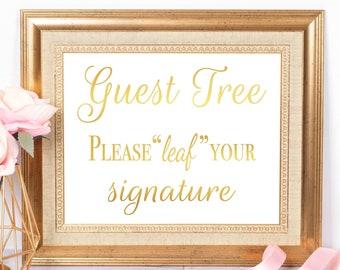 Fingerprint Tree Guest Book Sign Wedding Signage, Thumbprint GuestBook Alternative, Custom Guestbook Sign Matrimony Fingerprint Wedding Sign