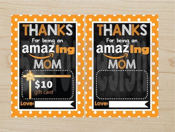 photo regarding Amazon Printable Gift Card referred to as Printable amazon present card, amazon giftcard holder, amazon reward, amazon tag, Mother thank by yourself, Moms Working day, mother present, Incredible Mother Reward Card
