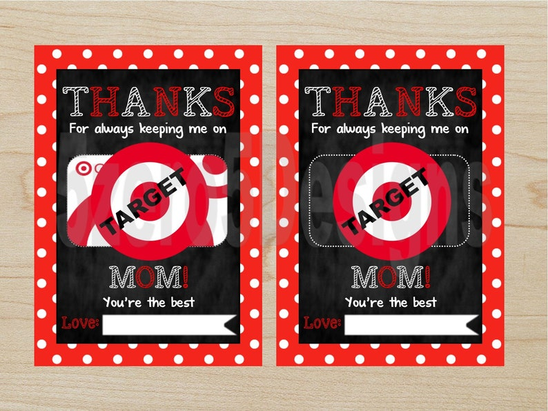 picture relating to Printable Target Gift Card titled Fast Obtain Due for Preserving Me upon Aim, Moms Working day Present, Printable concentration present card, Present Card Holder, mother Present / 5x7