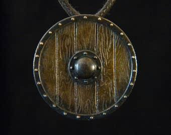 Nordic Shield: Bronze Pendant